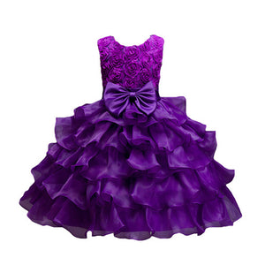 Princess Dress Girls Baby Clothing For Wedding Birthday Tulle Girls Party Vestidos Costume For age 3 4 5 6 7 8 9 10 years Kids