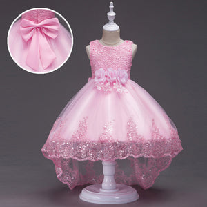 Princess Party Girls Dress Christmas Dresses For Baby Girls Clothes Sleeveless Wedding Dress Children Clothing Costumes For Kids