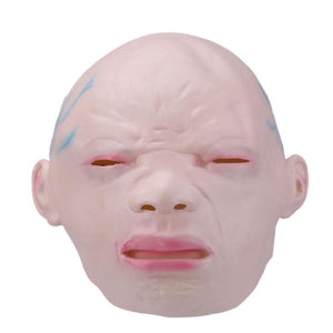 Horror Halloween Toy Crying Baby Full Face Halloween Party Cosplay Costume Fancy Dress Latex Mask for Children Adult Novelty Toy