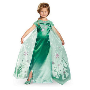 Girls Party Dress Anna Elsa Princess Dresses For Girls Clothes Toddler Wedding Dress Children Clothing Carnaval Costume For Kids