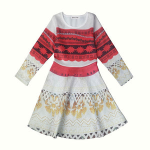 Carnaval Girls Dress Girls Moana Easter Party Dress Summer Snow White Dresses For Kids Elsa Costume 4-10 Years Children Clothing
