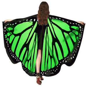 Chamsgend Newly Design Butterfly Wings Pashmina Shawl Nymph Pixie Poncho Women Costume Accessory 70925 Drop Shipping