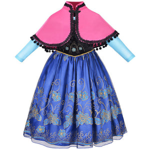 Summer Cinderella Girls Dress Carnaval Costumes For Kids Moana Toddler Princesse Dresses For Girls Elsa Dress Children Clothing