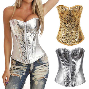 New Women Corset Wedding Dress Corset Body Shaper Waistcoat Shapewear Nightclub DS Stage Costume Court Style + T-back JL