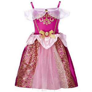 Summer Girls Dress Elsa Girls Clothes Children Party Toddler Dresses For Girl Snow White Princess Dress Costume For Kids Vestido