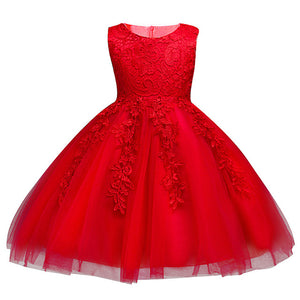 Kids Dresses For Girls Clothes Wedding Dress Summer Baby Girl Dress Vestidos Lace Easter Costume Praty Dresses Children Clothing