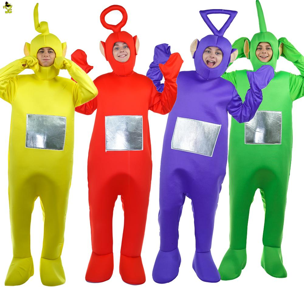 hot sale teletubbies costumes cartoon mascot cosplay carnival party teletubbies movie jumpsuit performance teletubbies sc 1 st costumehome