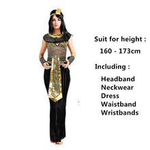 ancient egyptian pharaohs costumes egypt princess clothing halloween masquerade dresses cleopatra costume for adult kids child