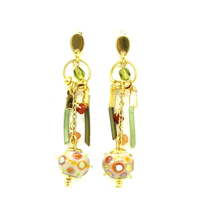 Boucles d'oreilles YELLOWSTONE