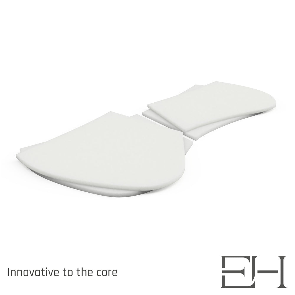 3Spine dressage adjustment shim half pad inserts
