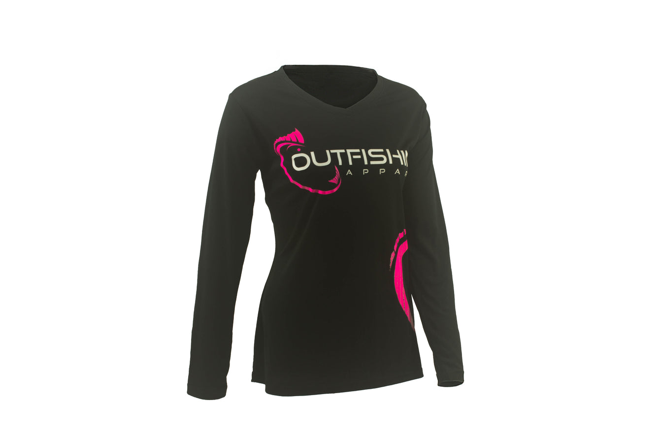 Women's Long Sleeve Performance Dri-Fit (Black)