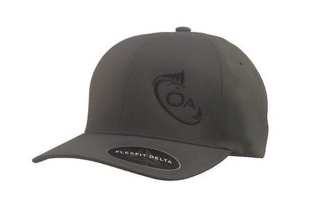 Offset Flex Fit Delta Hat (Charcoal)