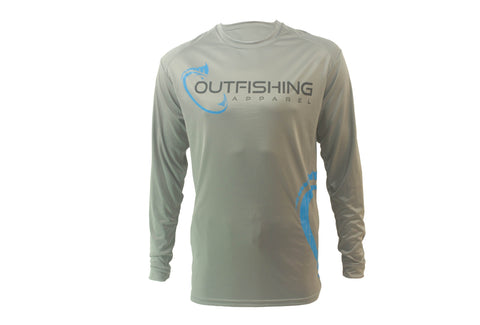 Men's Long Sleeve Performance Dri-Fit (Aluminum)