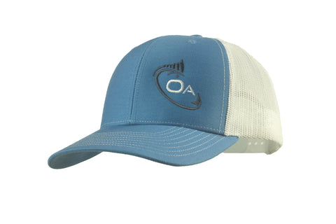 Trucker Hat (Blue, White)