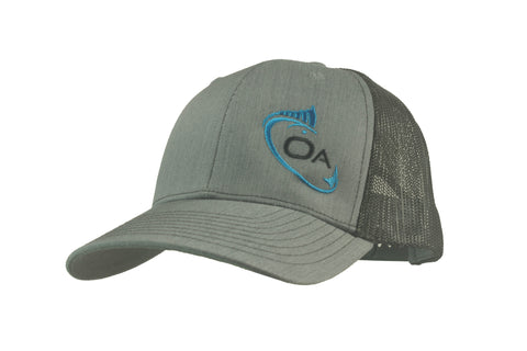 Trucker Hat (Grey, Black)