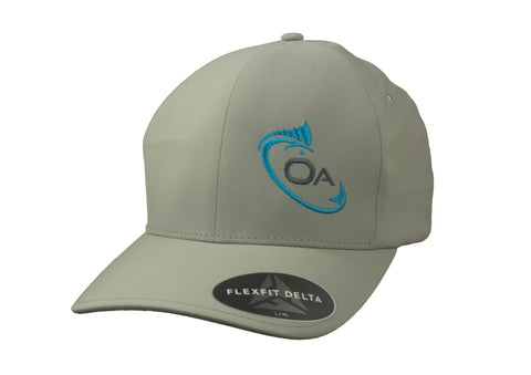 Offset Flex Fit Delta Hat (Grey)