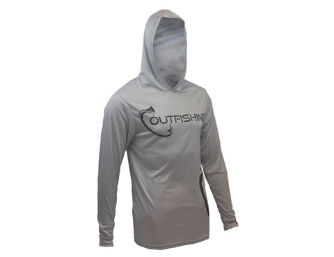 Long Sleeve Performance Dri-Fit Hoodie (Silver)
