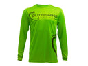 Men's Long Sleeve Performance Dri-Fit (Safety Green)