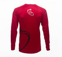 Men's Long Sleeve Performance Dri-Fit (Red)