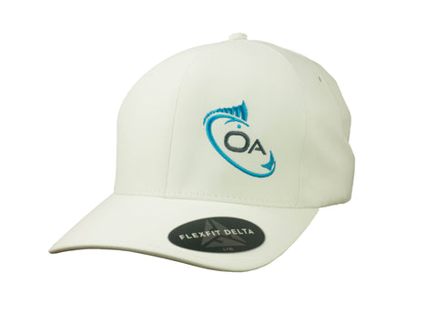 Offset Flex Fit Delta Hat (White)
