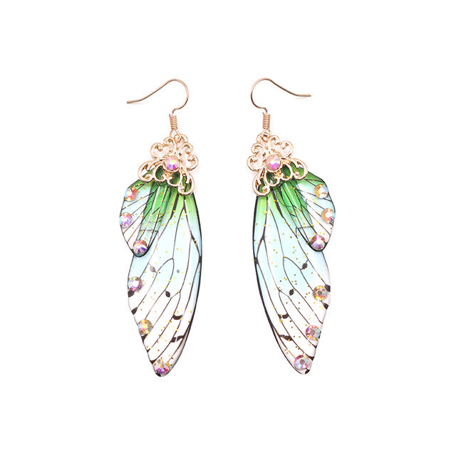 Romantic Butterfly Wing Earrings