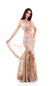 Maquillage. Exclusive Bellydance Costume. Lateral