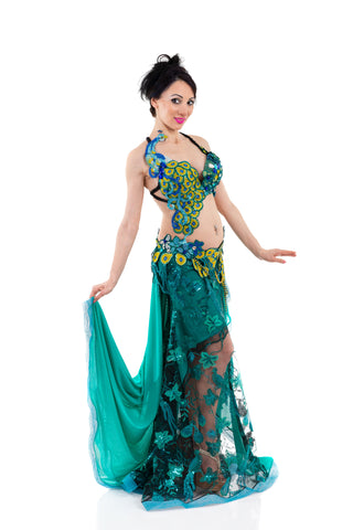 Exclusive bellydance costume front