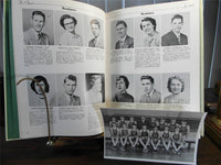 1951 Columbiana High School Ohio Original Yearbook Annual The Clipper