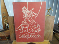 1940 Saint Mary's School & Junior College Raleigh NC Yearbook The Stage Coach