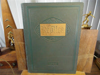 1929 Bushnell High School Illinois Original Yearbook Annual The Replica