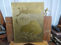 1953 OKLAHOMA BAPTIST UNIVERSITY OBU Shawnee YEARBOOK Annual The Yahnseh