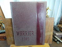 1949 EL CAMINO COLLEGE Torrance CA Original YEARBOOK Annual The Warrior