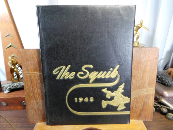 1948 Shelbyville High School Indiana Unmarked Yearbook Annual The Squib