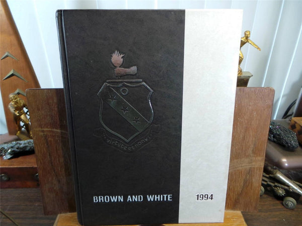 1994 LANDON SCHOOL Bethesda Maryland Original YEARBOOK Annual Brown And White