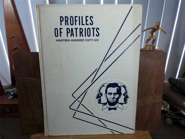 1966 LA PALMA JUNIOR HIGH SCHOOL Buena Park CA YEARBOOK Profiles Of Patriots