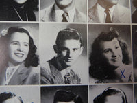 1946 Actor RODDY MCDOWALL University High School West LA CA YEARBOOK Chieftan