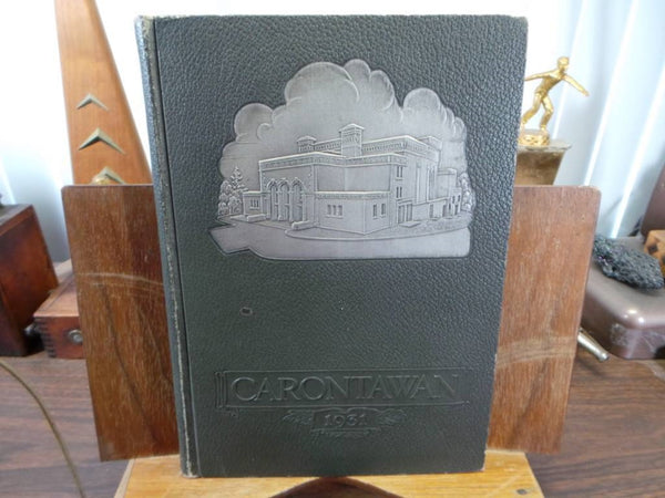 1931 MANSFIELD STATE TEACHERS COLLEGE PA Original YEARBOOK Annual Carontawan