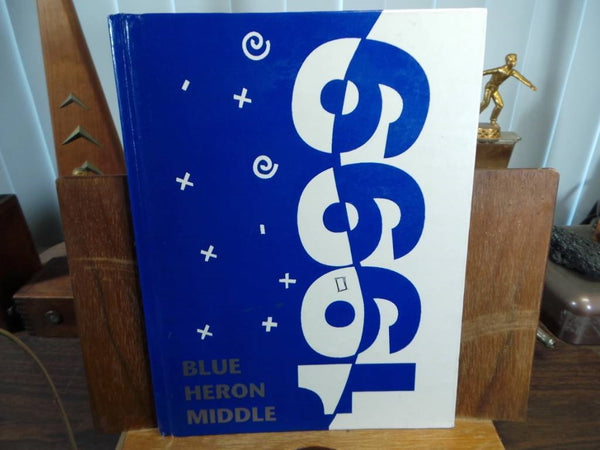 1999 BLUE HERON MIDDLE SCHOOL Port Townsend WA Original YEARBOOK Annual