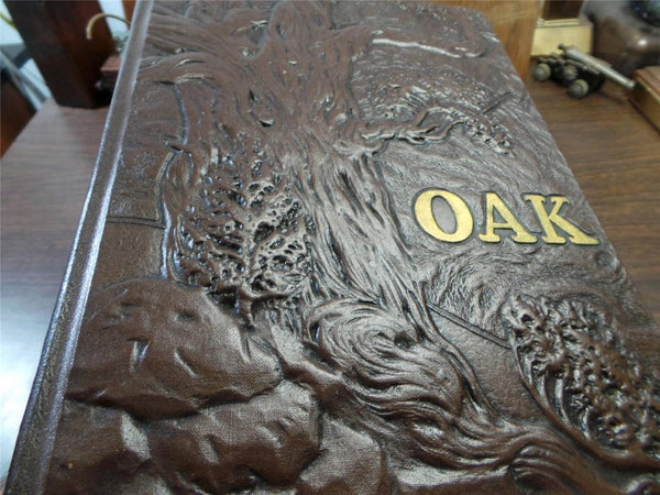 1951 January ROYAL OAK HIGH SCHOOL Michigan Original YEARBOOK Annual The Oak