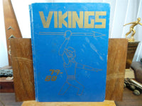 1980 BENICIA MIDDLE SCHOOL California Original YEARBOOK Annual Vikings