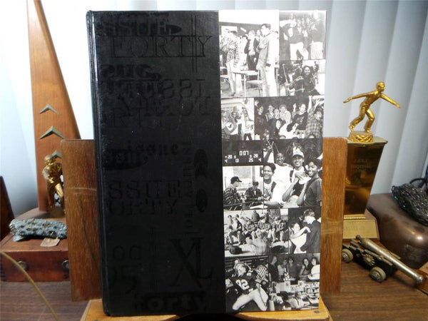 1995 LINCOLN HIGH SCHOOL Stockton California Original YEARBOOK Annual Log