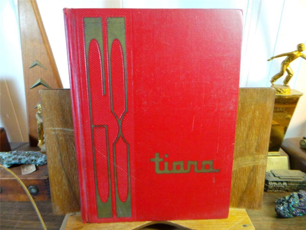 1968 PIUS X HIGH SCHOOL Downey California Original YEARBOOK Annual Tiara