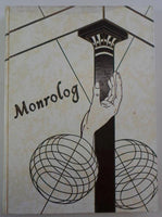 1963 MONROE HIGH SCHOOL Rochester New York Original YEARBOOK Annual Monrolog