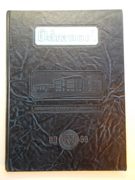 1944 MIDDLETOWN TOWNSHIP HIGH SCHOOL Leonardo New Jersey YEARBOOK Odranoel