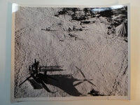 Rare 1945 Photo U.S. COAST GUARD Helicopter Rescues 11 CANADIAN FLYERS Labrador