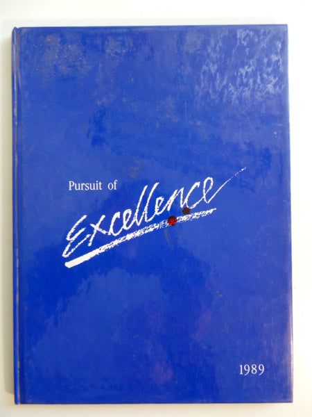 1989 Eastside Christian School Fullerton California Original YEARBOOK Annual