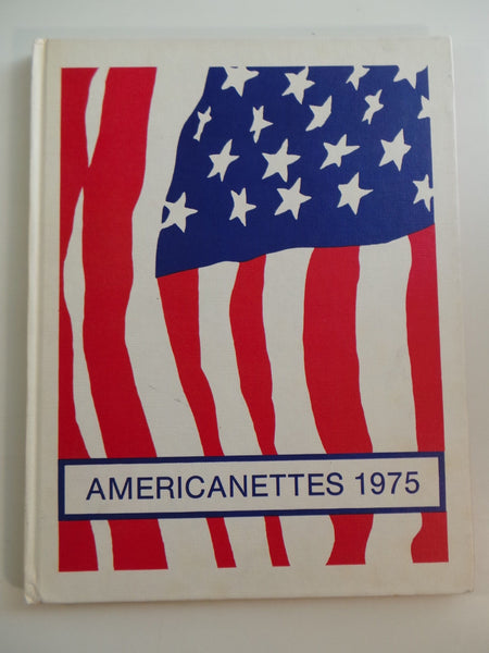 1975 Americanette Majorettes Twirling Baton Corps Color Guard VIRGINIA YEARBOOK