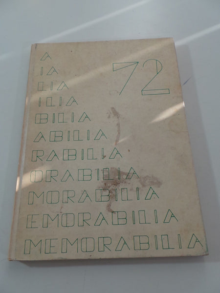 1972 Beamsville District Secondary School Canada Original YEARBOOK Memorabilia