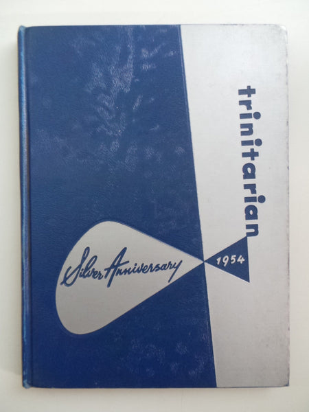 1954 Holy Trinity High School Chicago Illinois YEARBOOK Annual Trinitarian