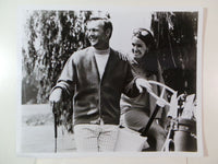 Vintage ARNOLD PALMER Robert Bruce GOLF SWEATER CARDIGAN Par Mock Turtleneck